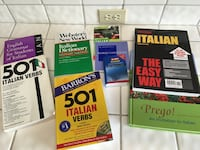 Italian books $199 value now $49 *new 2248 mi