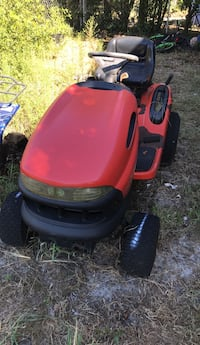 red and black ride on mower Wilmington, 28412