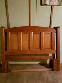 Solid Oak Headboard South Bend, 46615