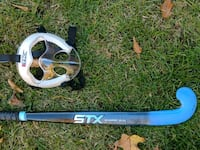 Indoor field hockey stick and mask Bel Air, 21015