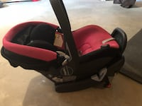 baby's black and red car seat carrier Grande Prairie, T8V 7R9
