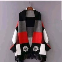 STYLISH WARM CAPE WRAP SHAWL WITH SLEEVES Mississauga, L5N 7K3
