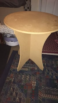 white and brown wooden table 56 km