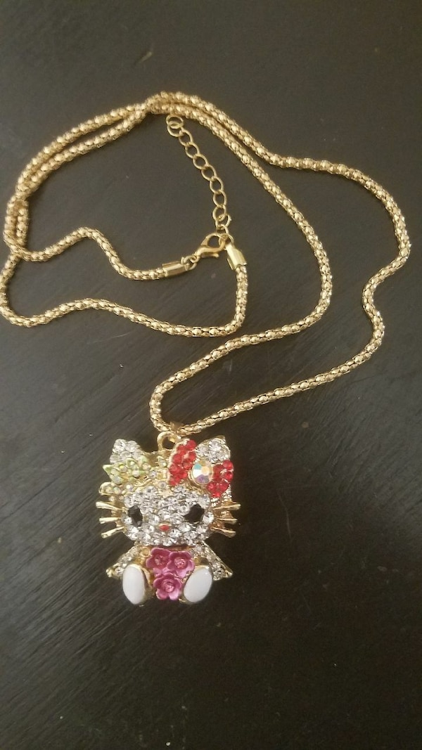 Cute Cute Kitty Necklace!