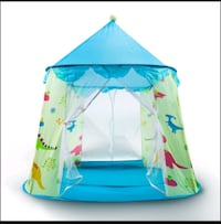 Kids popup play tent - easy assembly- brand new