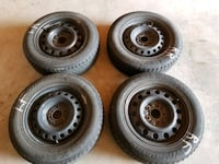 195/65 R 15 winter tire with rims Bradford West Gwillimbury