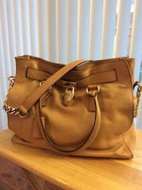 Brown leather snakeskin 2-way handbag Pleasant Hill, 94523