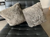 Pottery Barn - 2 faux fur cushions Houston, 77004