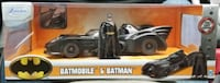 JADA 1:24 1989 BATMOBILE & BATMAN DIECAST CAR & FIGURE MISB