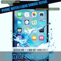 Water or liquid damage treatment- Any electronic devices  University Park, 20782