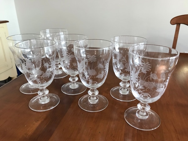 Waterford floral great room glassware
