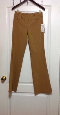 SUZY SHIER Brown Dress Pants: Size 1 (Brand new with tags) Toronto, M6G 4A1