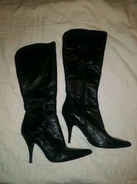 Nine West Womens 7.5. Leather boots Baltimore, 21223