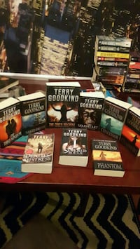 terry goodkind set of books Surrey