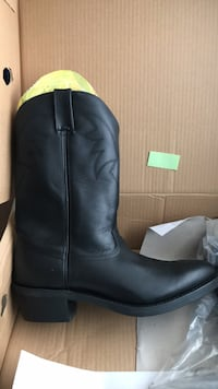 Black Durango Leather Boot New In Box Bergenfield, 07621