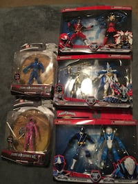 Power Ranger figures