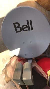 Satellite dish and 5 receivers for Bell Coquitlam, V3C 6E7