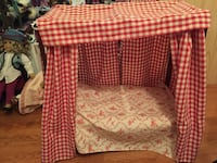 American Girl Doll Felicity Retired Canopy Bed Adult Collection smoke free home Fredericksburg, 22406