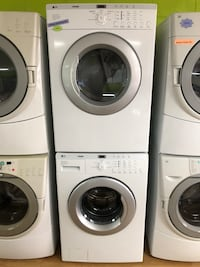 LG Tromm Front Load Washer and Dryer Set Woodbridge, 22191