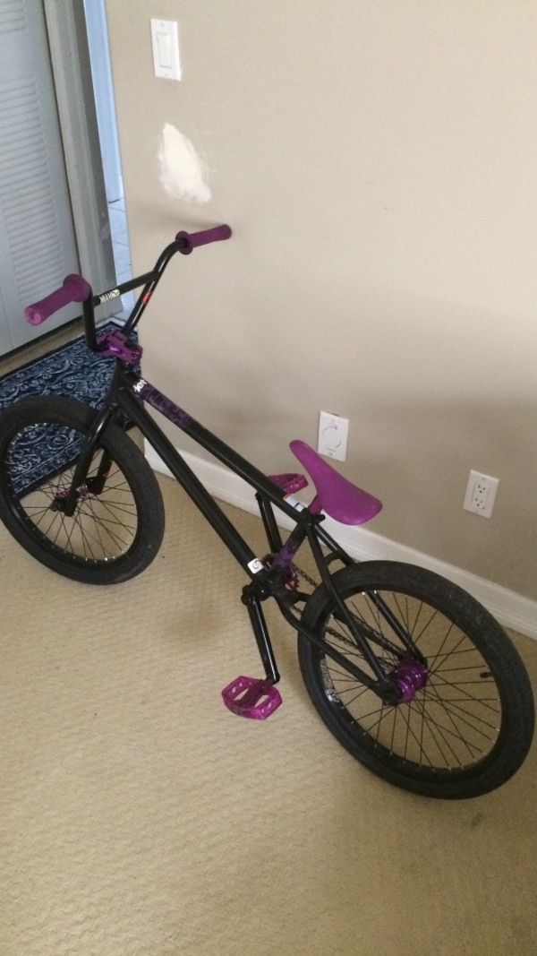 0bdc9b48bb2a Used Mirraco black and purple bmx bike for sale in Port Coquitlam ...