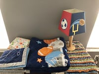 Boys Sports Bedding Set (full size) Miramar, 33029