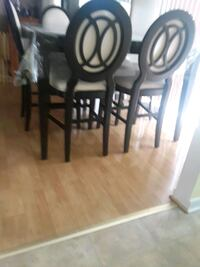 black wooden dining table set Dumfries, 22026