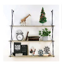 Floating Shelves, 3-tier Wood Wall Mounted NEW ½ RETAIL Virginia Beach, 23451