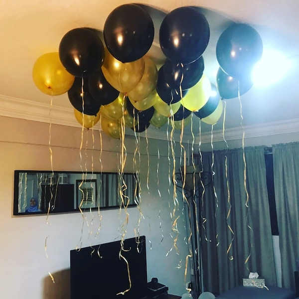 Balloon set up decoration