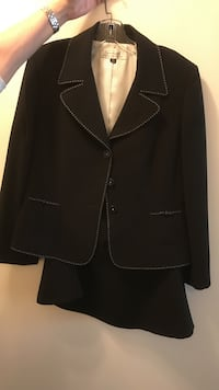 Tahiti 2 piece suit. Black blazer and skirt. Size 14 Vaughan, L4J 7Y5