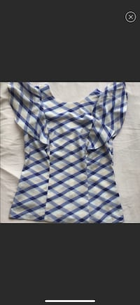 blue and white plaid sleeveless dress Fairfax, 22031
