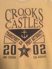 Crooks & Castles Sweater - Mustard VANCOUVER