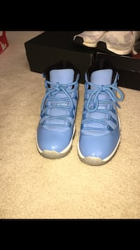 pair of blue and white air jordan 11 Boca Raton, 33498