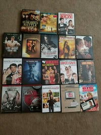 assorted DVD movie case lot Winnipeg, R3L 0Y9