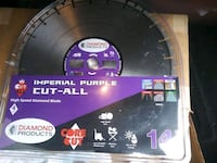 Imperial purple 14 inch diamond blades  Dundalk
