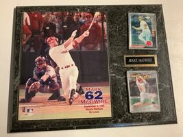 Mark McGwire Baseball Collectibles Plaques With Cards