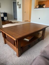 Solid Wood Coffee Table Houston, 77450