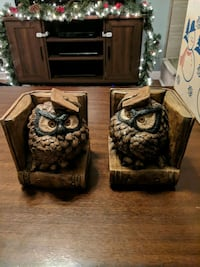 Owl Bookends - Dan Hughes 1879A Raleigh, 27603