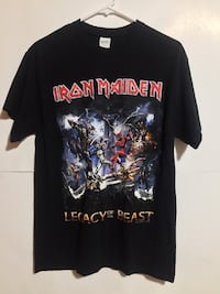 Iron maiden tee size small Surrey, V3R 5Y1