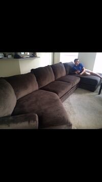 LIKE NEW couch, including cuddler chase & extended chase Somerville, 02145