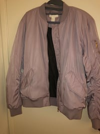 Light purple zip-up jacket  24 km