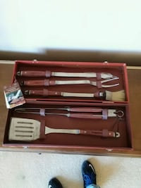 brown-and-gray 5-piece kitchen tool set Omaha, 68131