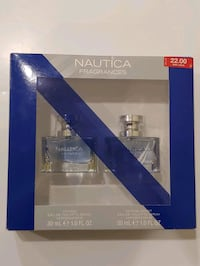 New Mens Nautica Cologne 2pc set