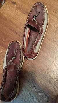 pair of brown leather loafers Silver Spring, 20901