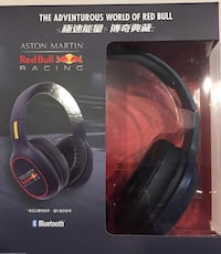 Limited Edition Red Bull Headphones Calgary, T3E 4A5