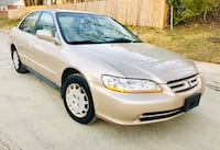 2002 Honda Accord Very Low Miles No check engine light  Silver Spring, 20902