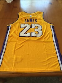 LeBron James Gold Lakers Jersey Lake Forest, 92630