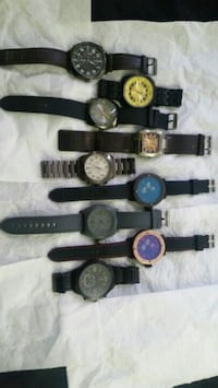 assorted color analog watch lot Adelphi, 20783