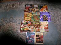 Eleven (11) Different Cook Books Springfield