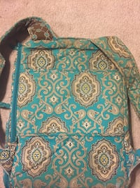 Turquoise Vera Bradley backpack with cushioned laptop sleeve! Leesburg, 20175