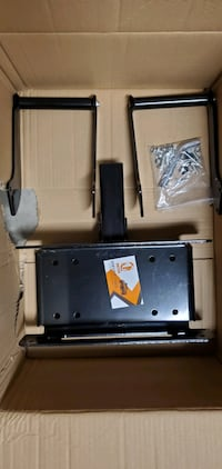 ORCISH Bumper Hitch Receiver Winch Mount Mounting Plate - 15000 Lb Cap
